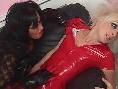 Scorching hot vampire babes love the taste of that pussy