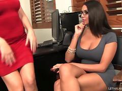 Secretary, Cunt, Glasses, Lesbian, Office, Pussy