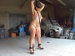 Tied Up, BDSM, Fucking, Mature, Chained, Gaping