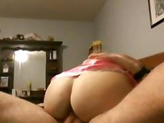 Wife being fucked by her new boyfriend