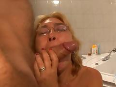 バスルームでセックス