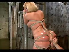 DZ MATURE BBW BDSM TIED UP PART 2