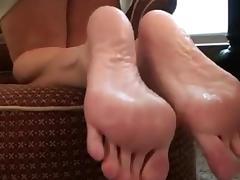 young girl lick mature feet
