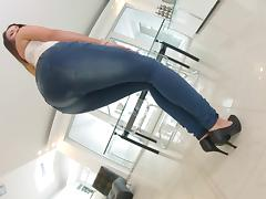 Bitch, Ass, Bitch, Close Up, Jeans, Masturbation