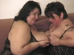 BBW Grannies Foursome