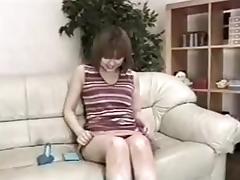 Two blokes fuck a hot Japanese slut