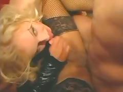 Tranny and dude drill a girl