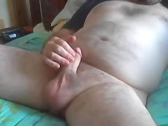 wank and cum