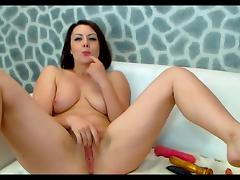 Webcam series - Curvy Russian body