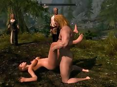 Perils of escaped Skyrim slavegirl 02
