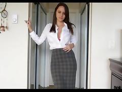 Brunette, Big Tits, Brunette, Dildo, Masturbation, Toys
