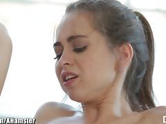 DarkX BBC Cum Eating Brunette Teen Slut