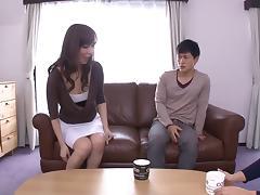 Japanese, Asian, Blowjob, Couple, Hairy, Handjob