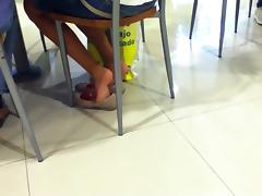 Shoeplay in a Mall