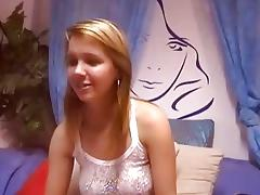Blond pleasure with vagina in livecam