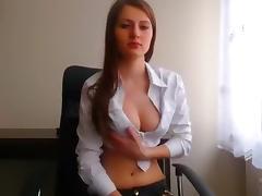 Secretary, College, Couple, Office, Secretary, Webcam