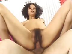 Hairy Ebony Girl Fucked VR88