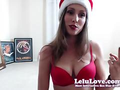 Lelu Love-WEBCAM: XXXmas Poledancing Striptease