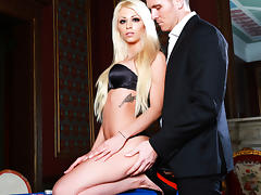 Chloe Lacourt,Marc Rose in Casino Erotica Scene Scene