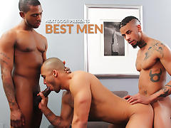 Kiern Duecan & Jin Powers & Krave Moore in Best Men XXX Video