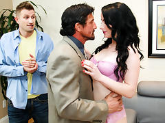 Veruca James, Tommy Gunn, Bill Bailey in DP My Wife With Me #07,  Scene #03