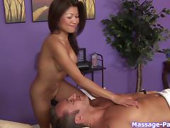 Nobody gives a massage like a sexy, talented Asian girl
