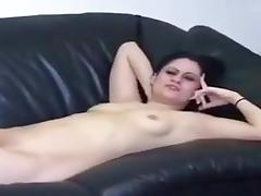 My wife isn't shy and she simply loves masturbating for me on camera