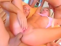All, Anal, Blonde, Creampie, Facial