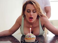 Boobs, Big Tits, Birthday, Boobs, Couple, Fucking