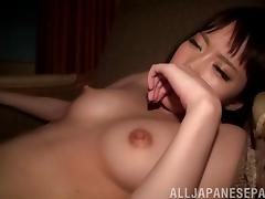 POV footage of a guy laying the pipe to a sexy Asian girl