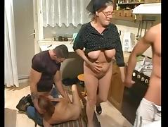 Granny Orgy, Amateur, Group, Mature, Old, Orgy