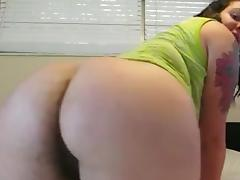Beautiful hairy ass