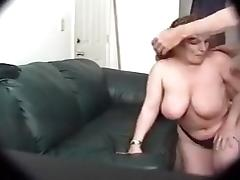 Getting lucky with two white skanks who want oral threesome