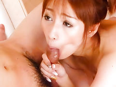 Exotic Japanese chick Tiara Ayase in Horny JAV uncensored Blowjob clip