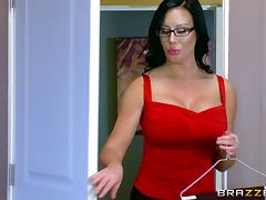 Busty secretary gets drilled by her boss on top of her desk