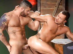 Angelo Marconi & Alex Marte in Throb, Scene #01