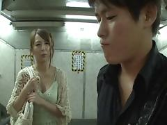 Irresistible Japanese slut can take many cocks at once
