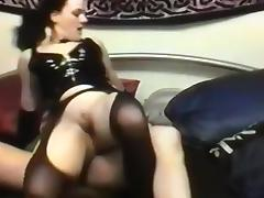 Naughty skank is riding my rock hard dick reverse cowgirl style
