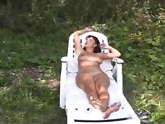 hot mature double fucked in the forest ...