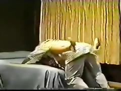 Old sextape of a cuckold taping his wife fucking a black bull