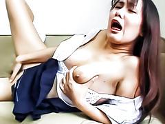 Fabulous Japanese model in Incredible JAV uncensored Hairy video