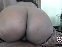 WCP CLUB Juicy Booty Ebony Layton Benton