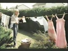 MILF seduces the boy next door- vintage