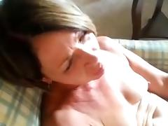 Lovely mature is licked to orgasm