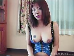 Bombastic Asian babe finally receives the cock that she wanted