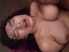 Bukkake, Asian, Bitch, Bukkake, Cum, Cumshot
