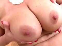 Perfect mature mom with big tits and hungry cunt