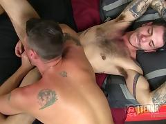 Incredible blowjob adventure with Christian and Tristan