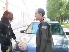 Crossdressers In Threesome Fuck