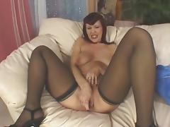 Classic Mature, Stockings, Big Ass and Anal